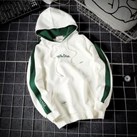 Wholesale Women Athletic Hoodies - Hot Fashion White Pullover Fleece Hoddies for Adult Women Mens Athletic Front Poket Costume sweartshirts causal sport hoodie 17 styles M-5XL