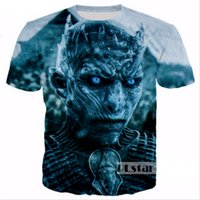 Wholesale women game thrones for sale - New Fashion Women Men Game of Thrones D Print Casual T Shirt JK1779