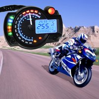 Wholesale motorcycle odometers resale online - 15000rpm modern KOSO RX2N similar LCD digital Motorcycle odometer speedometer adjustable MAX KM H