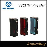 Wholesale Board Software - HCigar VT75 75W TC VW APV Mod VT75 TC Box Mod DNA75 Board from Evolv Technologies TC Mode for SS Ti Ni Escribe Software for Customization
