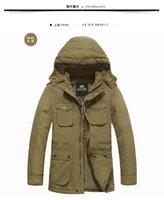 Wholesale 8xl Outdoor Jackets - Fall-Nian senlinjeep men's winter warm coat jacket man outdoor jacket \Men's plus size outdoor wear jacket coat 5XL 6XL 7XL 8XL