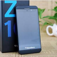telefones celulares de tela de toque desbloqueados venda por atacado-Original desbloqueado blackberry z10 dual core gps wifi câmera 8.0mp 4.2 polegada de tela de toque 16g armazenamento recondicionado celular