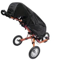 Wholesale Golf Bag Cover - Black Waterproof Clubbers Universal Golf Trolley Cart Bag Rain Cover New