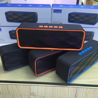 Wholesale Super Model Phone - SC211 new model outdoor bluetooth speakers rectangle shape with super heavy bass easy to carry replace old speakers in free shipping