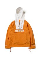 Wholesale Cool Windbreaker Jackets - 2018 cool hot hip hop heron preston zipper Orange up men unisex high quality Nylon Jackets windbreaker jacket XS-L