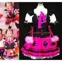 Wholesale Sexiest Outfit Japan - Free Shipping Japan An Cafe Bou Visual J-rock Dress Outfit Cosplay Costume Tailor-made