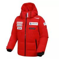 Wholesale full ski suit - 17FW DESCENTE Down jacket D6423SDJ77M Windproof Waterproof Coats Couple Ski Suit Winter Outdoor Outerwear Fashion HFLSYRF001