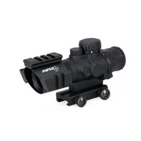 Hot Sale 4x32 Double ill. Tactical Compact Scope Optic Sight for Hunting Tactical Sport Expédition gratuite CL1-0233
