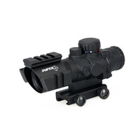 Hot Sale 4x32 Dual ill. Tactical Compact Scope Optic Sight for Hunting Tactical Sport Frete Grátis CL1-0233