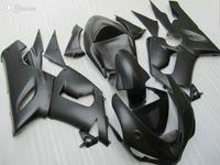 Wholesale Kawasaki Zx6r Matt Black - 3 Free gifts New ABS Full Fairing Kit 100% Fit For KAWASAKI Ninja ZX6R ZX-6R 636 05-06 6R 05 06 2005 2006 Bodywork set matt black
