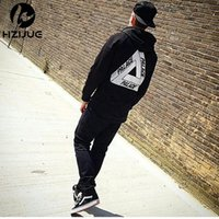 Wholesale Winter Sweatshirts For Women - Palace Skateboards Lettering & Triangle print Men hoodie women street fleece warm sweatshirt for FASHION winter autumn