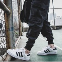 Wholesale Pleated Wool Pants - TOP mens jumpsuit clothing 28-40 4xl sweatpants black grey wool sweats winter harem cargo jogging dress pants men joggers pants