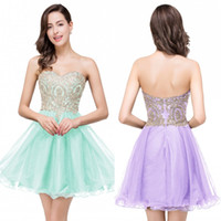 Hot selling Under $50 Real Photos Mini Short Homecoming Dresses A Line Sweetheart Appliques Tulle Prom Cocktail Sweet Sixteen Graduation Dresses CPS362