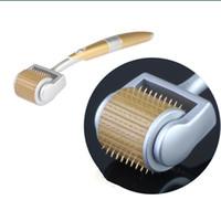 zgts titanium agujas derma roller al por mayor-192 Pines Titanium Needles ZGTS Derma Roller Microneedle Dermaroller Beauty Roll Skin Care Tool Envío Gratis