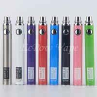 Wholesale 5pcs Ego Battery - 5pcs lot UGO VII Vaporizer eGo Pen 510 Vape Battery 650 900 mah Come With Micro USB Chargers Ecig Manufacturer By ePacket