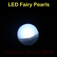 Wholesale Decorative Mini Bags - Led Fairy Pearls!!!12pcs bag Magical LED Berries 12Colors Battery Operated Mini Twinkle LED Party Light for Fish Tank Vases