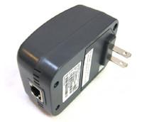 sinal repetidor wifi sem fio venda por atacado-2pcs Asoka PlugLink PL9650-ETH 85M adaptador HomePlug Powerline Para IPTV ITV US