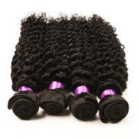 Wholesale Cheap Brazilian Deep Curl - brazilian deep curly virgin brazilian wavy hair bundles 4 pcs cheap ali moda brazilian deep curly human hair wave Deep Wave Curl