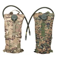 Wholesale Acu Hydration - New Outdoors 3L Hydration System Water Drink Bag Pouch Backpack Bladder ACU CP Camouflage