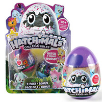 Wholesale Eggs For Hatching - Creative Update Version Hatchimals 2 Pcs set Hatching Egg Children Edu Funny Toys Christmas Gifts for Kids