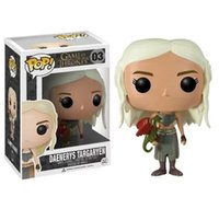 Wholesale Dragon Pvc - funko pop game of thrones daenerys dragon of mother action figure