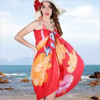 Wholesale Summer Wrap Skirts Wholesale - 2017 New Sarongs Bikini Wrap Skirt Veil Beach Towel Beach Travel Summer Thin Scarf Shawl Female Sunscreen Wholesale Free Shipping