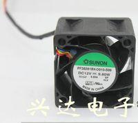 Wholesale Copper Winding Wire - Sunon PF38281BX-D010-S99 12V 9.6W 38*38*28mm 0.8A 4 wire wind cooling fan