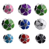 Fashion New Round European Style Murano Glas Spacer lose Korn-DIY Schmucksachen, die Armband-Armbänder Charms