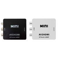 Wholesale cvbs cable for sale - Group buy 1080P HDMI to AV Converter RCA CVBS Audio Video Adapter For HDTV Chip Mini HMDI2AV
