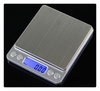 Wholesale DHL High precision jewelry scale miniature gold jewelry electronic medicine grams weigh g g scale kitchen scale