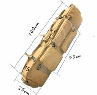 """Wholesale Rifle Shooting Sports - 100cm 39"""" RIS Tactical Rifle Case Gun Pouch Hunting Airsoft Bags Shooting Packs"""
