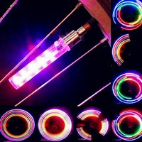 Wholesale Wheel Seller - Factory Directly Seller 11 LED 12 Patterns Bicycle Valve Wheel Light 2pcs Pack Free Shipping