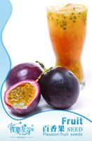 Wholesale Fruits Passion - Fruit seeds Passion fruit seed Passiflora edulis Beauty to raise colour 40 grains package 3bags per lot