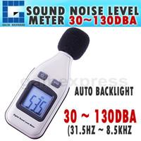 Wholesale Mini Digital Sound Level Meter - SL-1351 Mini Digital Sound Noise Level Meter Tester 30~130dBA Decibel Pressure