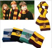 ingrosso sciarpa a maglia a righe-New Harry Potter Sciarpa Grifondoro Scuola Uomo Donna Generale Maglia Sciarpa a righe Grifondoro Harry Potter Heffy Sciarpa da poker