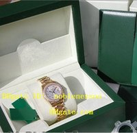 Wholesale Luxury Ladies Watch Box - With Original Box Papers lady Luxury LADIES 18K YELLOW GOLD SILVER DIAMOND Perpetual PRESIDENT #179138 Women's Watches