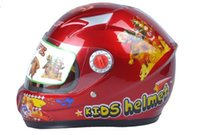 Wholesale Motorcycle Helmets For Kids - Bike Helmet for Children Full face Helmet Electric Vehicle Kid Safety Helmet Motorcycle Helmets of Kids Helmets