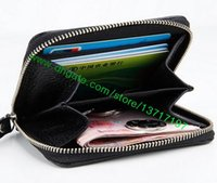 Wholesale Grade Fashion Purses - Top Grade Canvas Coated Real Leather Zippy Coin Purse N63070 M60067 N63069 Fashion Designer Short Coin Wallet