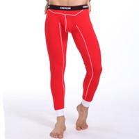 Wholesale Xxl Name Brand Shirts - Wholesale-Wholesale New 2016 Warm Brand Name Cotton Thermal Underwear Thermo Underwear Man Long John Underpants M L XL XXL