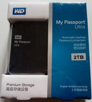 "Wholesale 2tb Usb Wholesale - hot selling 2TB Portable External Hard Drive USB3.0 2.5"" hard disk 2000GB 2pieces 1LOT"