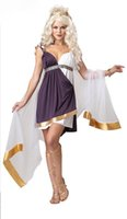 Wholesale Venus Dresses - Wholesale-Free Shipping Venus Goddess Costume PP1586 Sexy Halloween costumes Sexy Costumes Dress