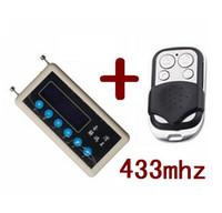 uzaktan kod kopyala toptan satış-Carcode uzaktan kumanda kopya 433 mhz araba uzaktan kod tarayıcı + 433 mhz A002 araba kapı uzaktan kumanda kopyalama