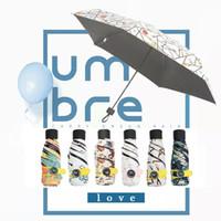 Wholesale Mini Folding Pencil Umbrella - Mini Pocket Umbrella Compact Windproof Folding umbrella Travel Parasol Super Light Portable Mini Pocket Umbrella Sunshade IB232