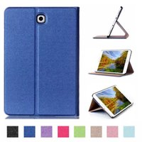 Wholesale 8inch Tablet Covers - Business Stand Protective PU Leather Case Cover for Samsung Galaxy Tab S2 8.0 T710 SM-T715 T715 8inch Tablet eReader Funda Case