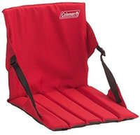 stadium seat pad - Chair Bench Cushion Padded Back Folds Carry Portable Stadium Bleacher Stand Seat