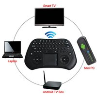 Hot venda Measy GP800 USB remoto sem fios teclado Air Mouse Touchpad Para Pad Smart TV Box