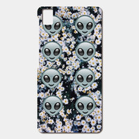 Wholesale Cell Phone Covers Blackberry - High Quality Cell phone case For BQ Aquaris E5 E6 M5 X5 csae alien emoji flowers Patterned Cover Shell Phone Case