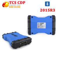 Wholesale New Tcs Cdp Pro Plus - Wholesale- 2015.R3 Free Activate TCS CDP PRO PLUS with LED with Bluetooth without bluetooth new vci tcs cdp as mvdiag tcs cdp pro plus