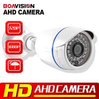 Wholesale Analog Cctv - Analog High Definition Surveillance 1.0MP 2MP AHD Camera 2000TVL AHDH 720P 1080P AHD CCTV Camera Security Bullet Outdoor Low 0.001Lux