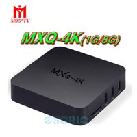 rk3229 mxq pro 4K Ultimate HD Android 6.0 smart tv box 1gb 8gb Quad Core 2.0GHz Hardware Decodifica WIFI Miracast grossista